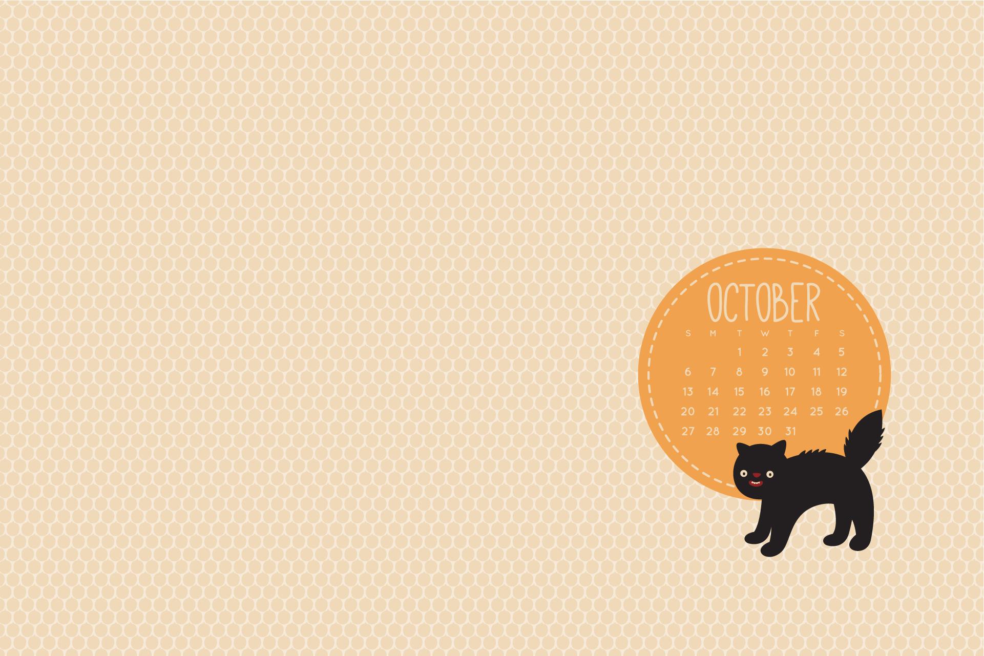 gallery for gt cute october 2013 calendar wallpaper