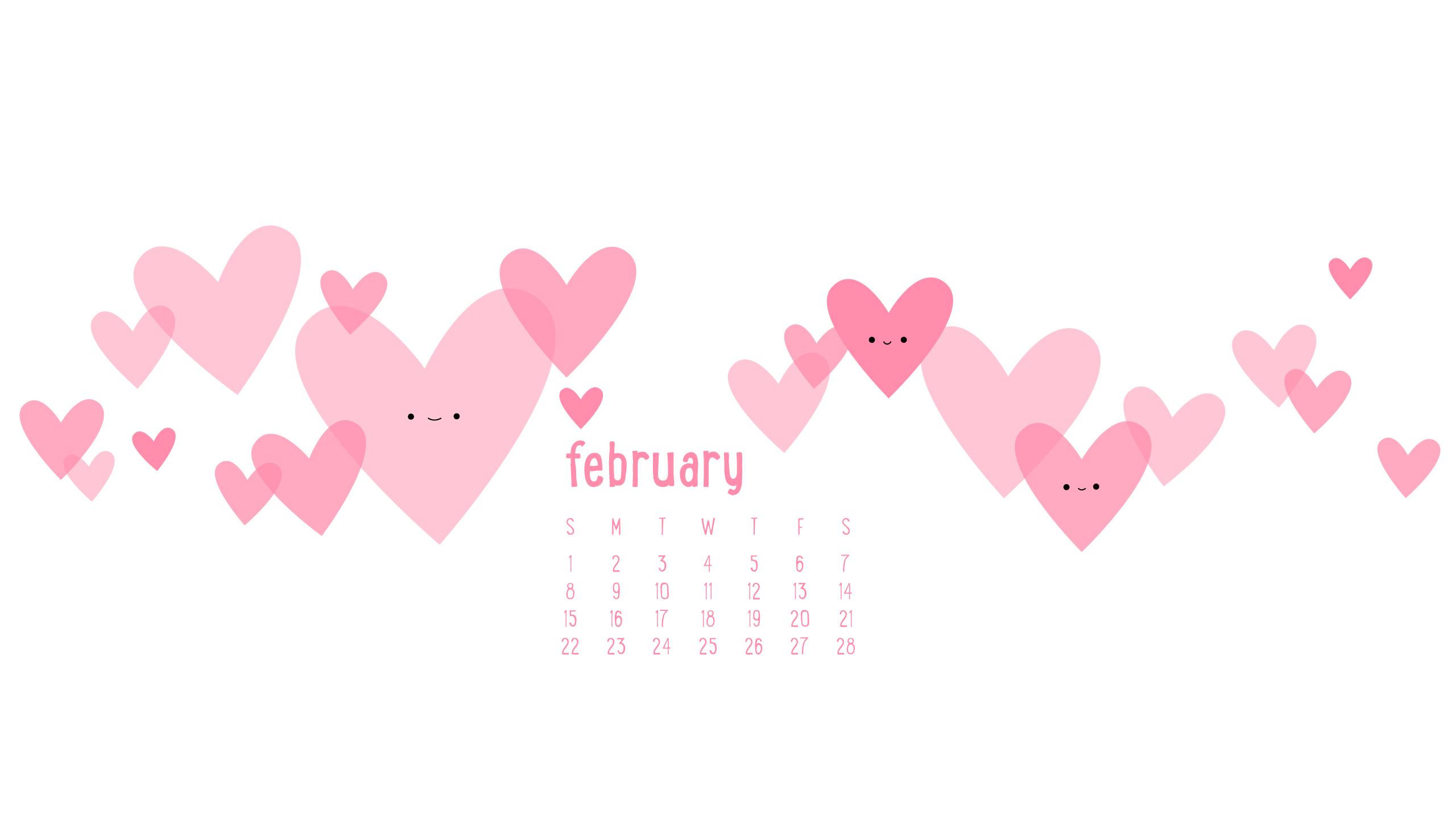 wild olive calendar i heart february