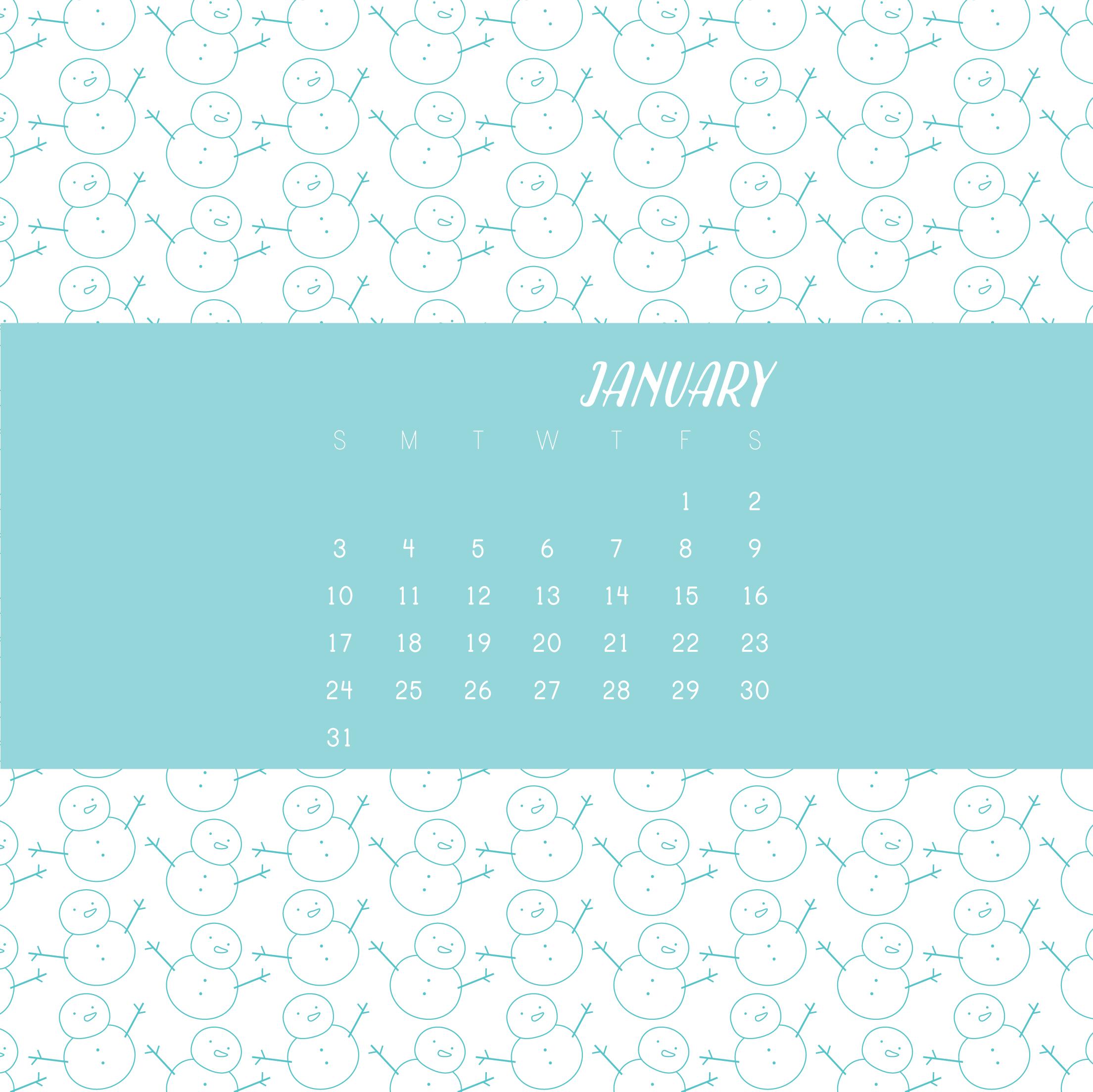 calendar old snowmen for january 2016 wild olive bloglovin u0027